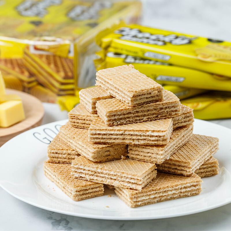 泰国特产 进口ChockyButter黄油巧客威化饼干432g 进口休闲食品零食 满额包邮