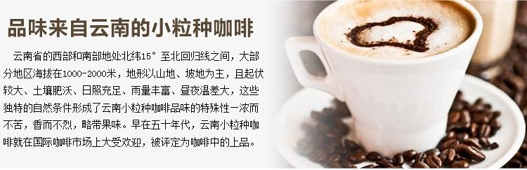 云南特产 小粒咖啡 两瓶装
