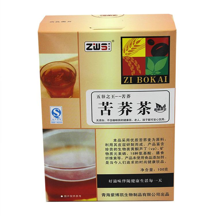 青海特产 苦荞茶100g