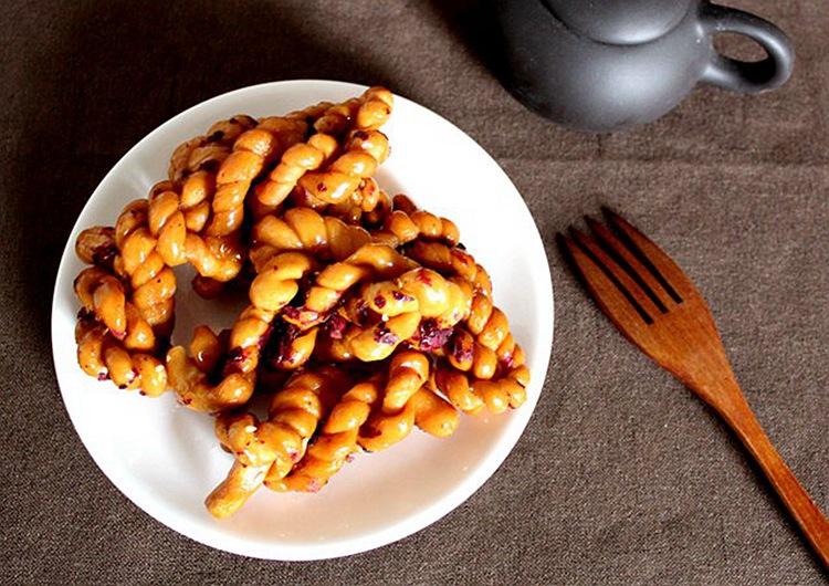 云南特产 东巴客玫瑰麻花 传统糕点纯手工老麻花美食