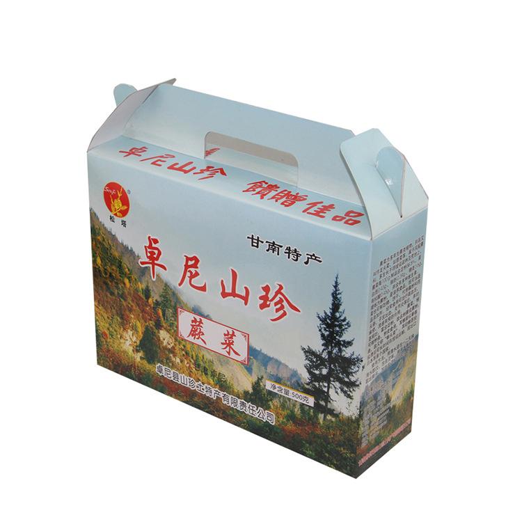 甘肃特产 源味堂 西北甘肃甘南特产干蕨菜500g礼盒装天然野生菜营养丰富