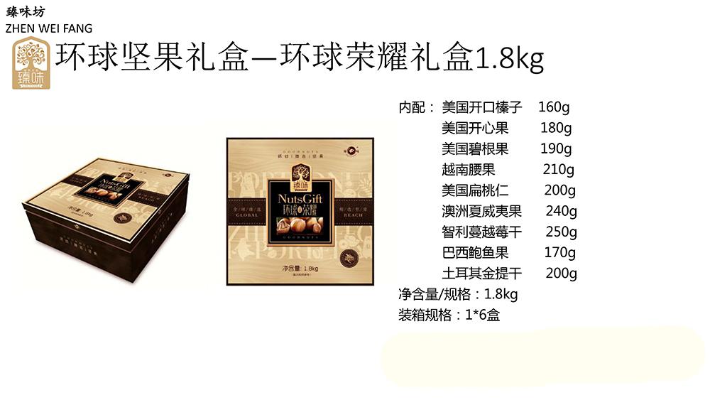 北京臻味坊环球坚果大礼包春节特产礼品干果零食团购混合装 包邮