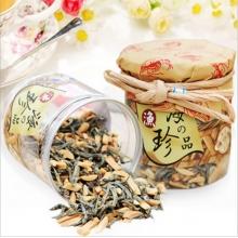 台湾进口<好祺>美味营养杏仁丁香鱼140g罐装沙丁鱼