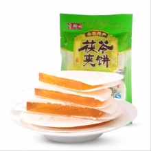 北京特产 宫御坊 水果味茯苓夹饼糕点地方特色特产零食小吃甜点美食400克/袋